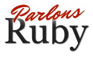Logo parlons ruby small